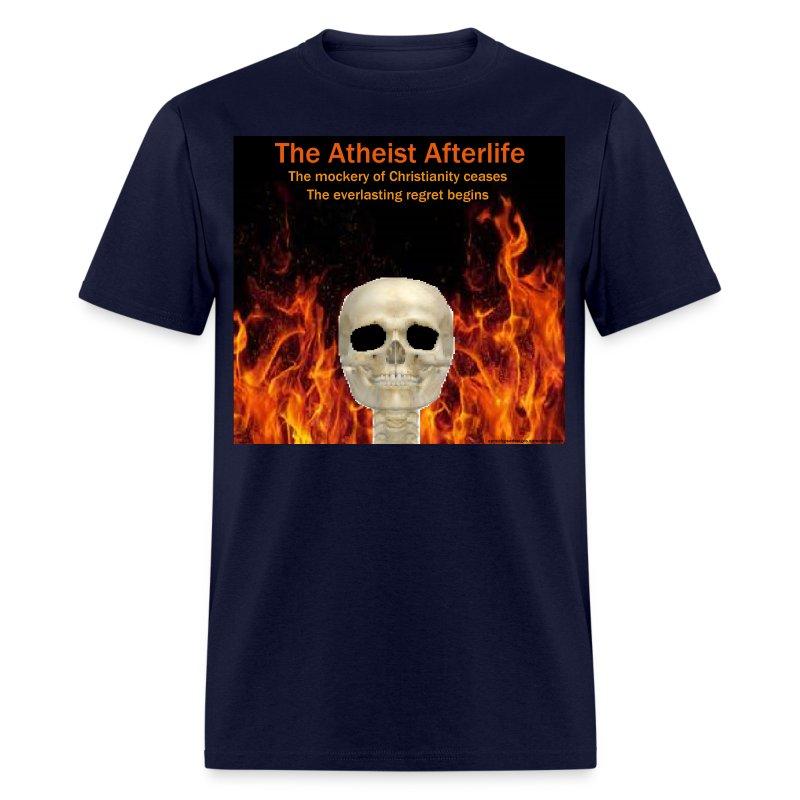 Atheist afterlife - Men's T-Shirt