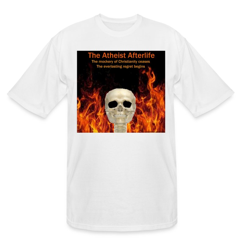 Atheist afterlife - Men's Tall T-Shirt