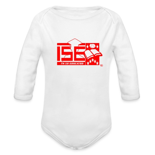 ISE Baby Leaders Classic- One Piece - Organic Long Sleeve Baby Bodysuit
