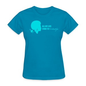 Detangle in Blue - Women's T-Shirt
