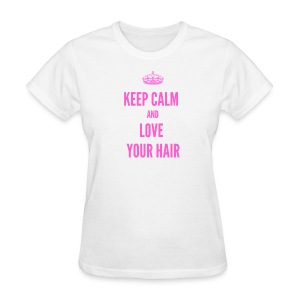 Keep Calm Love - Women's T-Shirt