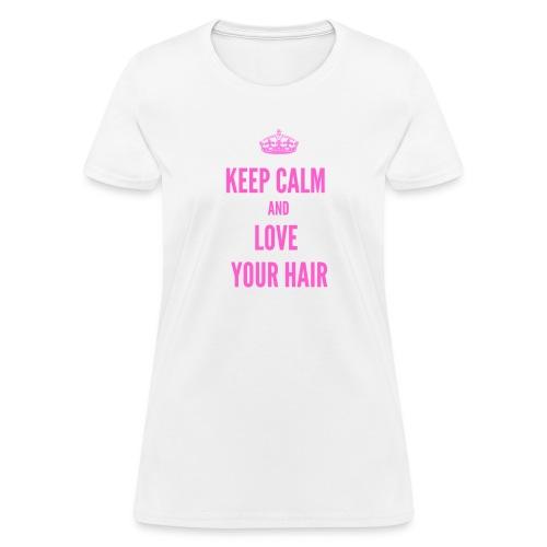 Keep Calm Love - Women's T-Shirt