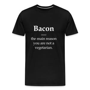 Vocab Bacon - Men's Premium T-Shirt