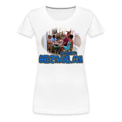 GREECETRAVEL DONKEY MEZE (women) - Women's Premium T-Shirt