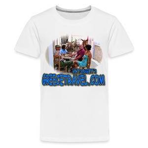 GREECETRAVEL DONKEY MEZE (teens) - Kids' Premium T-Shirt