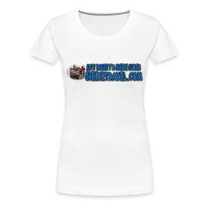 GREECETRAVEL DONKEY MEZE LOGO (women) - Women's Premium T-Shirt
