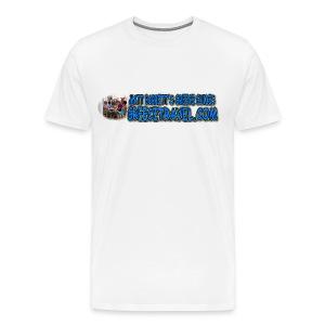 GREECETRAVEL DONKEY MEZE LOGO (men) - Men's Premium T-Shirt