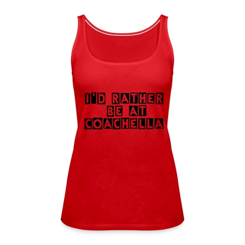 Coachella Tee - Women's Premium Tank Top