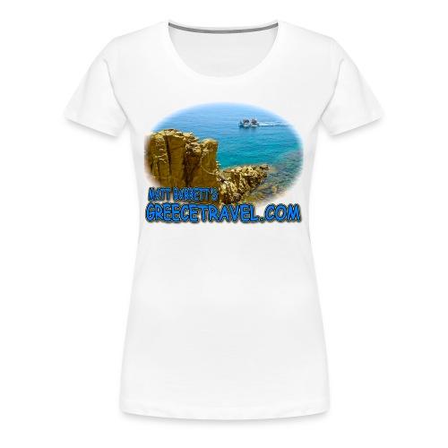 GREECETRAVEL MYKONOS BOAT (women) - Women's Premium T-Shirt