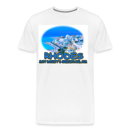 RHODES CITY (men) - Men's Premium T-Shirt