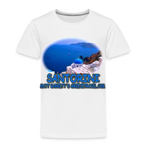 SANTORINI OIA (todlers) - Toddler Premium T-Shirt