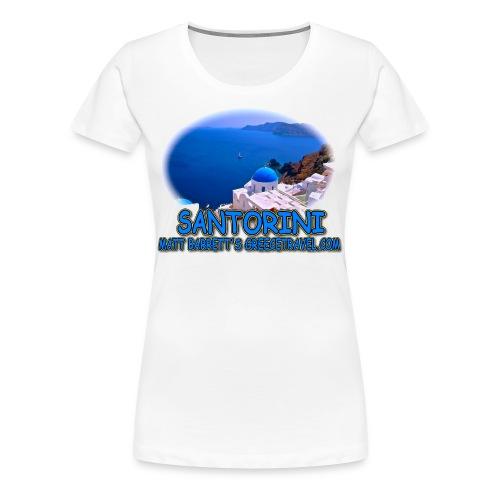 SANTORINI OIA (women) - Women's Premium T-Shirt