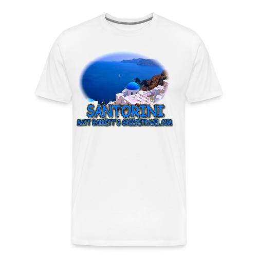 SANTORINI OIA - Men's Premium T-Shirt