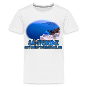 SANTORINI OIA (kids) - Kids' Premium T-Shirt