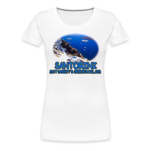 SANTORINI FIRA (women) - Women's Premium T-Shirt