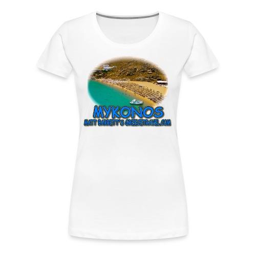 MYKONOS SUPER PARADISE (women) - Women's Premium T-Shirt