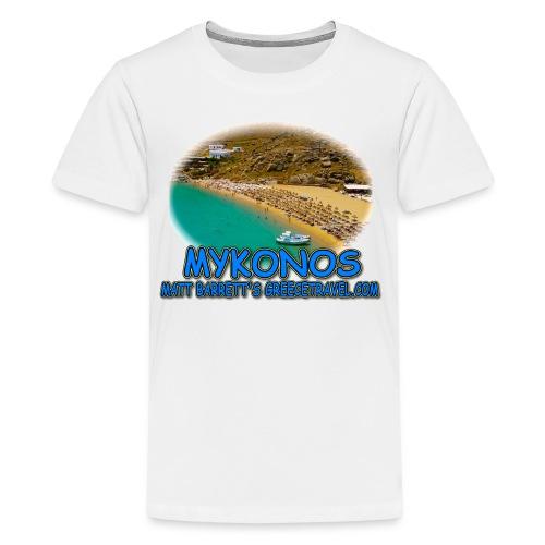 MYKONOS SUPER PARADISE (teens) - Kids' Premium T-Shirt