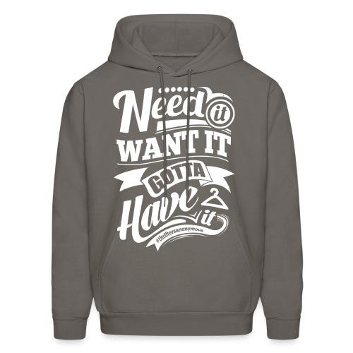 Hoodie Sweatshirt! - Men's Hoodie