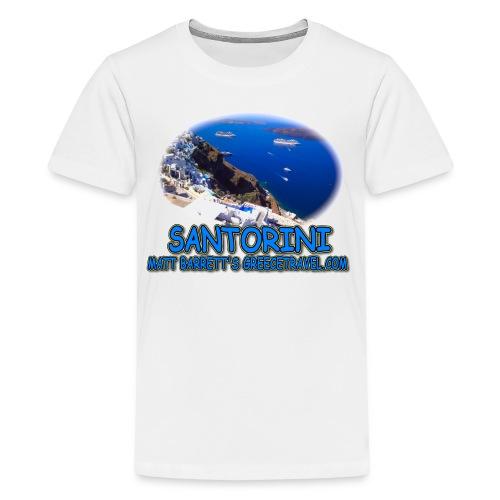 SANTORINI FIRA (teens) - Kids' Premium T-Shirt