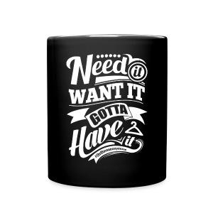 A Mug! We love our tea and Coffee! - Full Color Mug