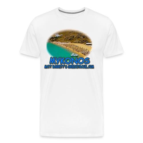 MYKONOS SUPER PARADISE (men) - Men's Premium T-Shirt