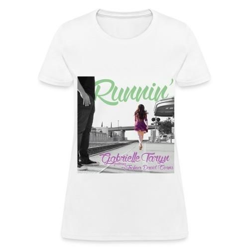 RUNNIN' cover art T-Shirt - Women's T-Shirt
