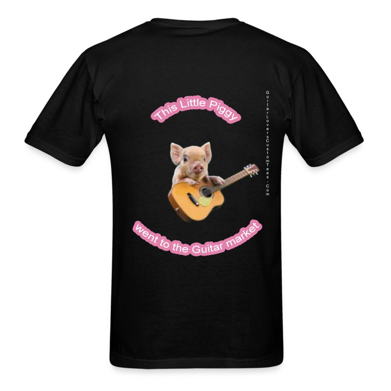 Guitar Pig - Men's T-Shirt