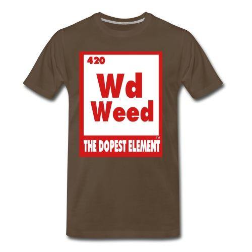 Wd Weed Element - Men's Premium T-Shirt