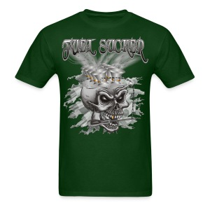 Racing Fuel Sucker Skull - Men's T-Shirt