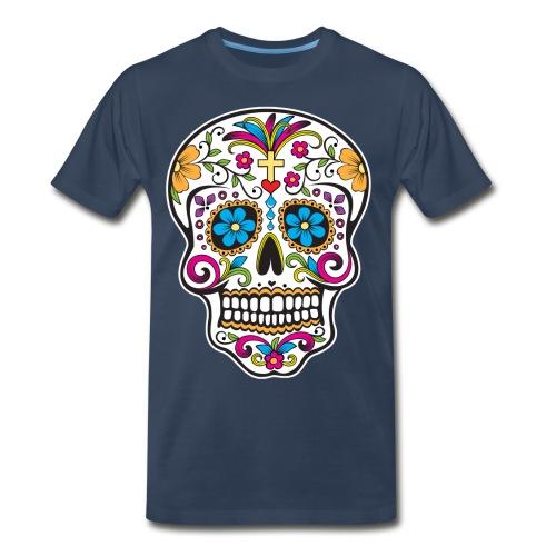 Colour Skull - Men's Premium T-Shirt
