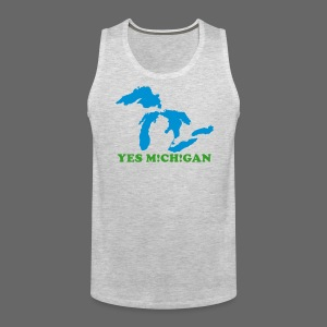 Yes Michigan - Men's Premium Tank