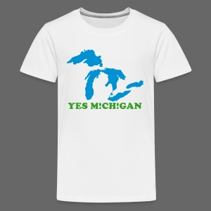 Yes Michigan - Kids' Premium T-Shirt