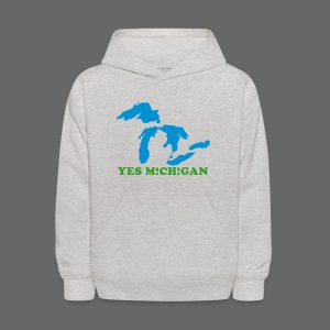 Yes Michigan - Kids' Hoodie