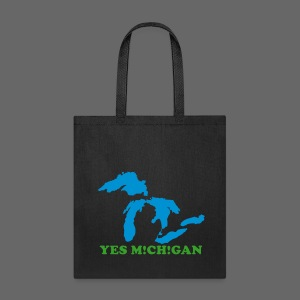 Yes Michigan - Tote Bag