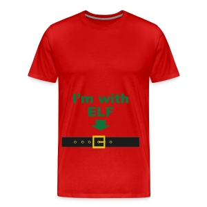 I'm with ELF - Men's Premium T-Shirt
