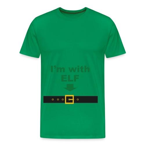 I'm with ELF - Men's Premium T-Shirt