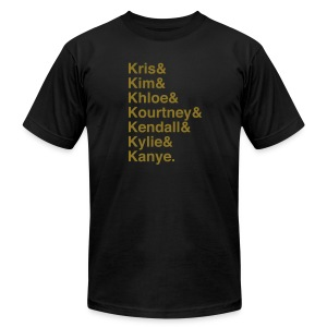 Kardashians - Men's T-Shirt by American Apparel