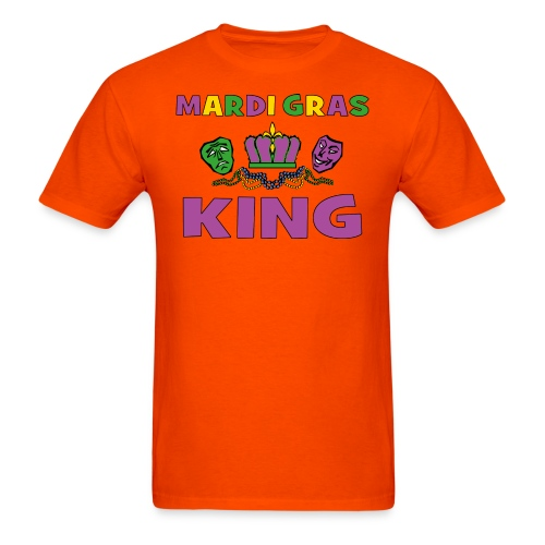Mardi Gras King - Men's T-Shirt