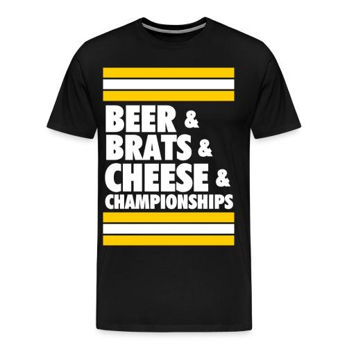Mmm - Men's Premium T-Shirt