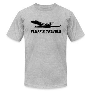 Fluff's Travels - Men's T-Shirt by American Apparel