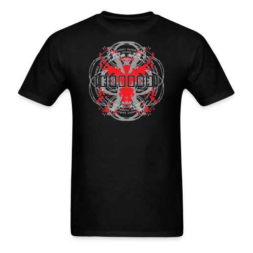 'Hex Code' [2015 reprint!] (Black, Mens) - Men's T-Shirt