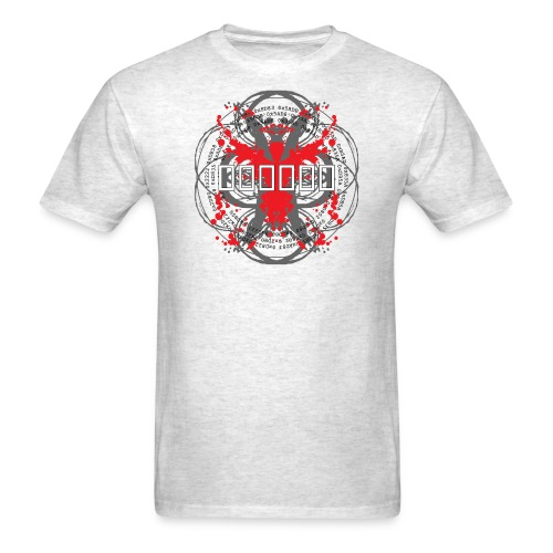 'Hex Code' [2015 reprint!] (Gray, Mens) - Men's T-Shirt