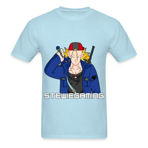 Stewiegaming Black border - Men's T-Shirt