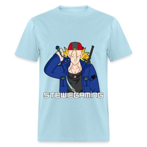 Stewiegaming Black border - Men's T-Shirt