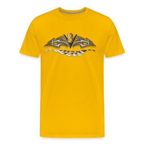 V8 Logo T-Shirts - Men's Premium T-Shirt