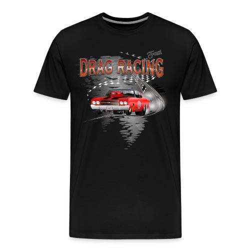 Drag Racing Chevrolet Chevelle T-Shirts - Men's Premium T-Shirt