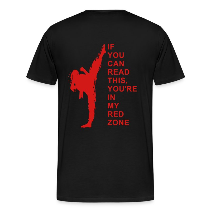 Red zone clothing store