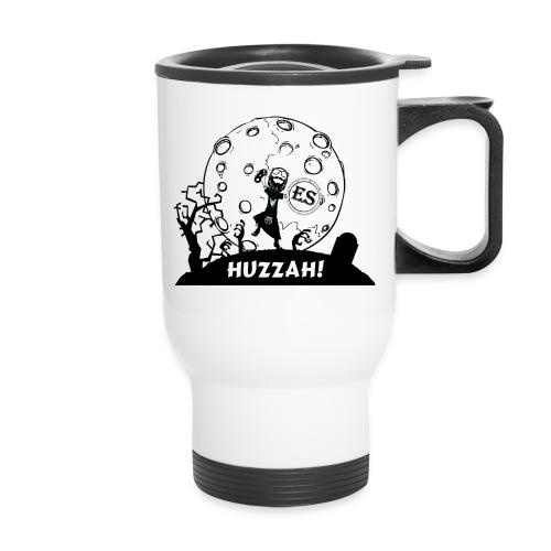 Huzzah Cartoon - Travel Mug