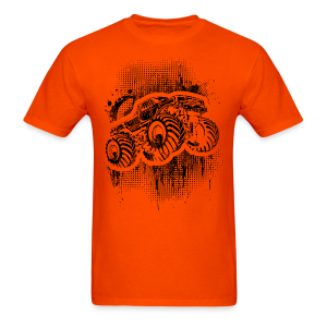 Monster Truck Grunger - Men's T-Shirt