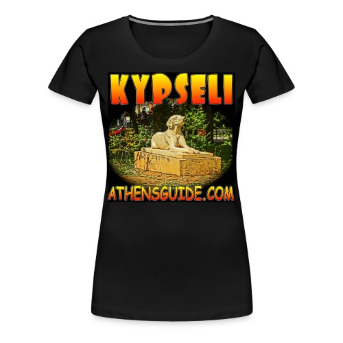 Kypseli Dog Black (women) - Women's Premium T-Shirt